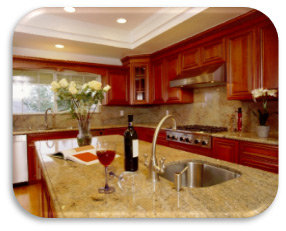 natural stone countertops installation