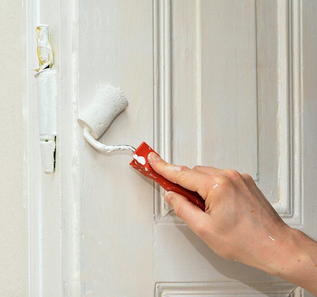 painting door service